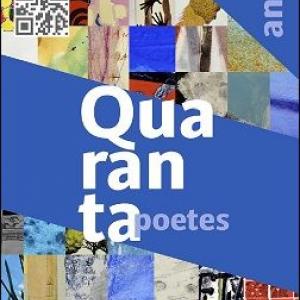 """Exposición """"40 anys, quarante poetes, XL artistas"""""""