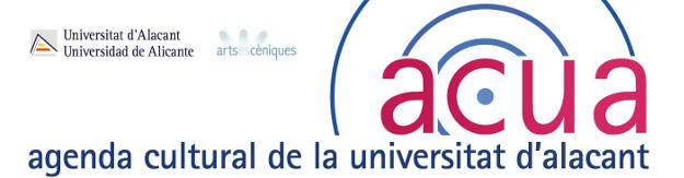 Agenda Cultural de la Universitat d'Alacant