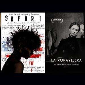 Carteles de los cortometrajes que se proyectarán el 28 de octubre en los cines Panoramis
