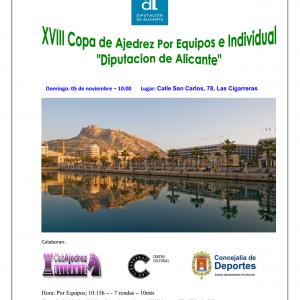 XVIII Copa de Ajedrez de Diputación de Alicante
