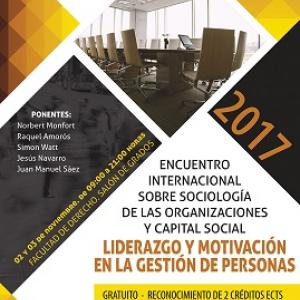 Encuentro Sociología de las Organizaciones