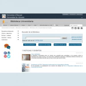 Web de Biblioteca