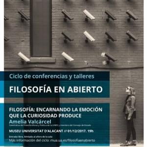 conferencia Filosofía en Abierto