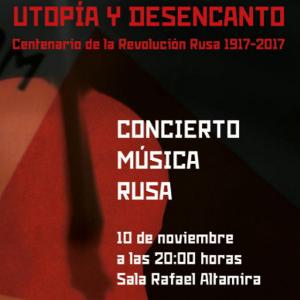Concierto de Música Rusa