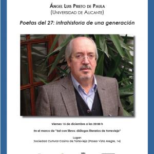 conferencia poetas del 27 intrahistoria de una generación