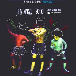 ¡ME LA JUEGO! de ImproVivencia en Alicante. Un show de humor improvisado.