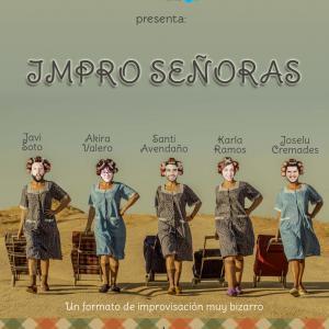 IMPRO SEÑORA de ImproVivencia, un formato de improvisación teatral muy freak.