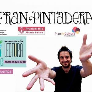 Fran Pintadera lleva su cuenta cuentos a Diagonal