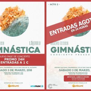 """Gimnástica presenta """"Líquido"""""""
