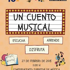 Cartel del concierto didáctico