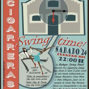 Swing Time en la Casa de la Musica