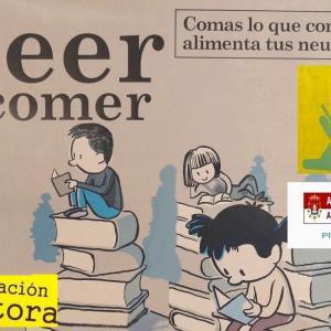 Cartel alusivo a  la campaña de Animación a la lectura.
