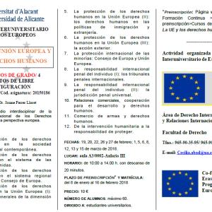 La Unió Europea i els Drets Humans