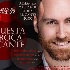 cartel del concierto en el ADDA