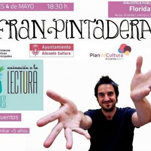 Fran Pintadera y sus cuentos