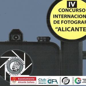Imagen representativa del IV Concurso Internac. de Fotografía Alicante