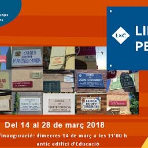 """Exposición """"Lingüistes pel carrer"""