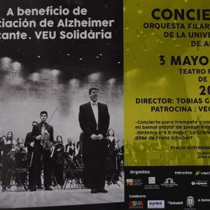 Concierto de la OFUA en el Teatro Principal
