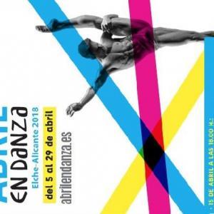 Cartel de Abril en Danza con el acto del día 15