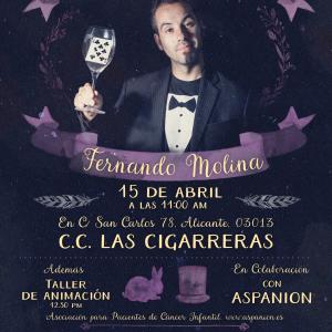 Ilusionista Fernado Molina