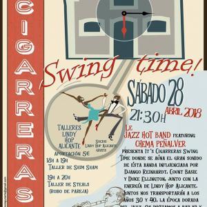 """Concierto """"Le Jazz Hot Band con Chema Peñalver"""