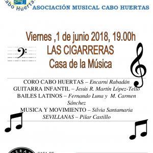 Concierto Asociación Musical Cabo Huertas
