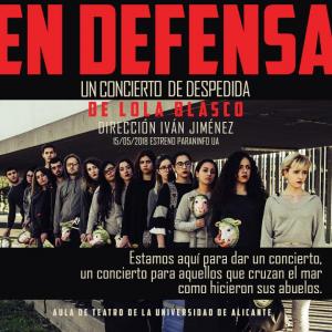 """teatro """"En defensa... """""""