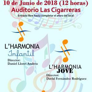 Concert fi de curs Banda Infantil i Banda Jove