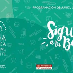 Procesion de la Patrona  de la ciudad  Ntra.Sra. del Remedio. Concierto Banda Sinfónica Municipal de Alicante