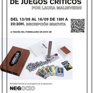 """Exposición """"Negocio"""". Juegos críticos"""