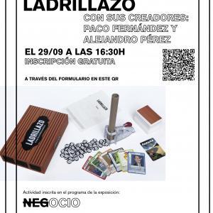 """Exposición """"Negocio"""" en Las Cigarreras. Torneo de ladrillazo"""