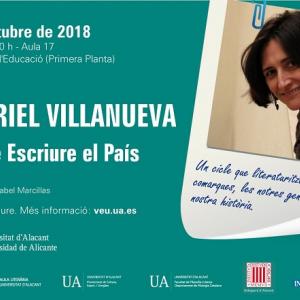 Conferencia de Muriel Villanueva