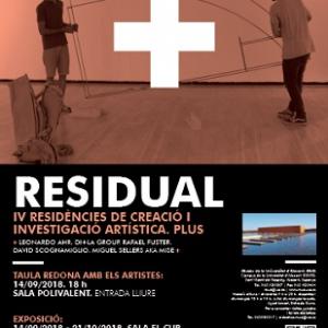 """Exposición """"Residual"""""""