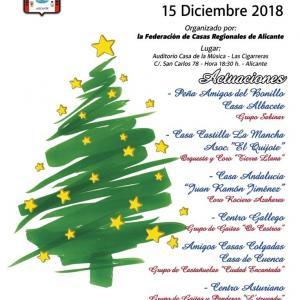 XIII Festival Navideño Fed. Casa Regionales de Alicante