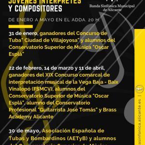 Jóvenes interpretes y compositores