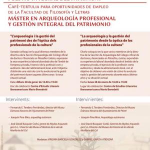 Cafè-Tertúlia per a Oportunitats d'Ocupació de la Facultat de Filosofia i Lletres