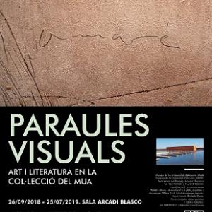 "Exposición ""Palabras visuales"""