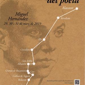 Senda del poeta 2019, 29-30 y 31 de marzo