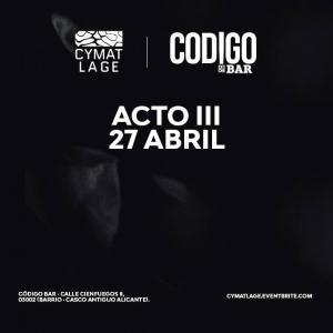 Acto III 27 Abril