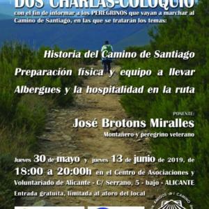 Charlas-coloquio 'Camino de Santiago'