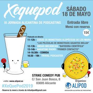 XeQuePod 2019 Tercera Jornada Alicantina de podcasting