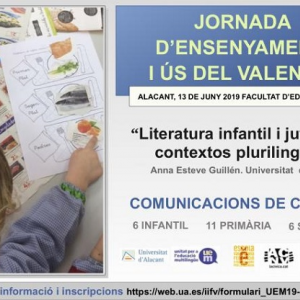 Jornada d'Ensenyament i Ús del Valencià