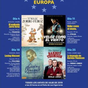 """Cine de Verano. """"Made in Europa"""""""