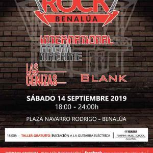 concierto Benalúa Rock