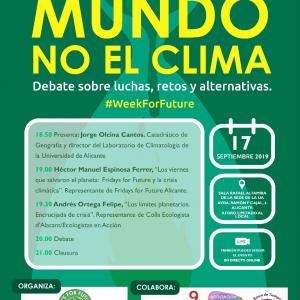 Debate clima