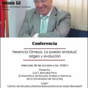 conferencia Antonio Gil