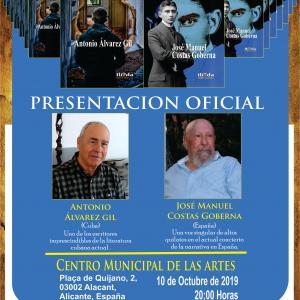 """Presentación de """"El pianista y la noche"""" y """"La herencia de Kafka"""""""