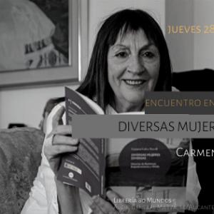 Diversas mujeres diversas con Carmen Calvo Novell