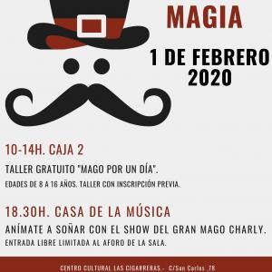 """#edusialicante. Celebramos el """"Día de la Magia"""" en Cigarreras"""
