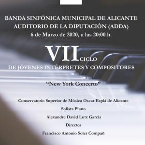 VII Jóvenes Intérpretes. Banda Sinfónica Municipal